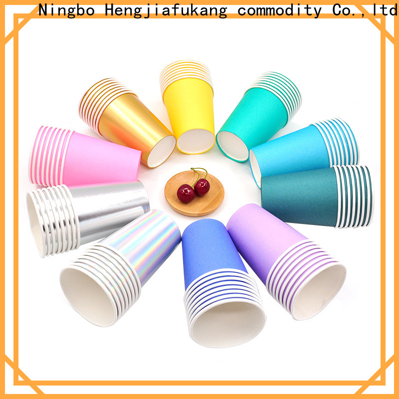 Hengjiafukang Wholesale disposable lidded cups for business disposable