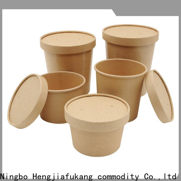 Hengjiafukang disposable salad boxes Supply soup