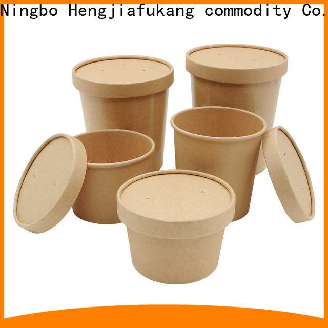 Hengjiafukang Top compostable soup containers factory coffee