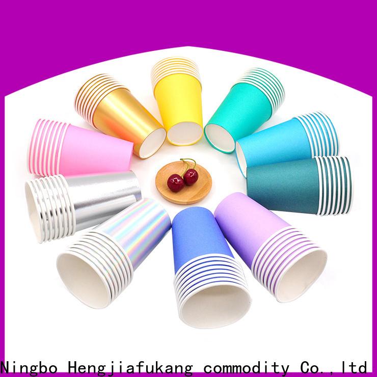 Hengjiafukang wholesale disposable paper cups Suppliers food packaging
