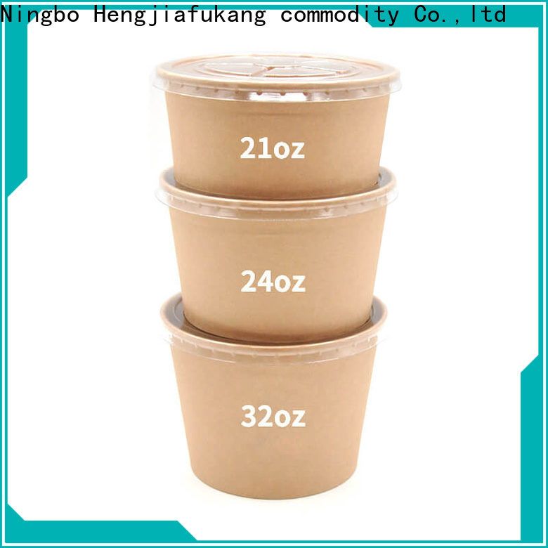 Hengjiafukang Best biodegradable bowls with lids for business soup