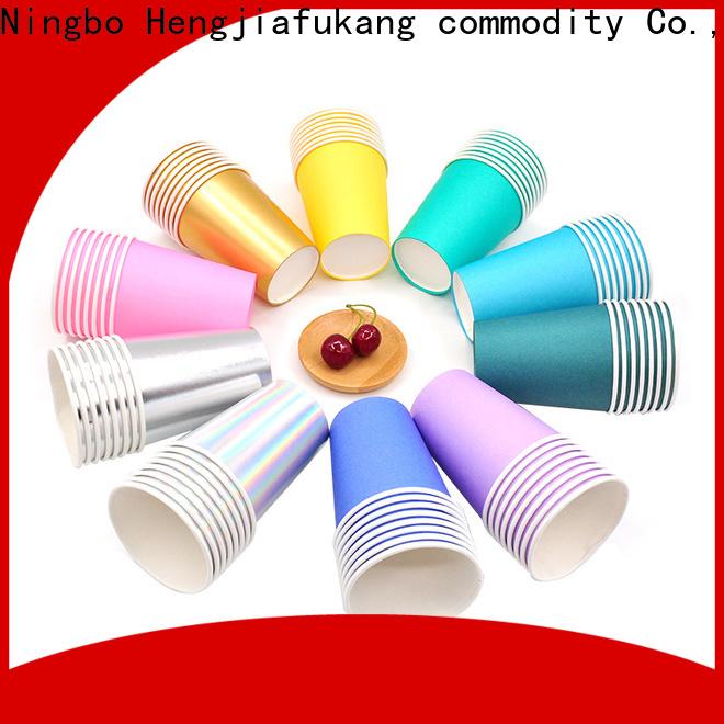 Custom folding paper cup Suppliers food packaging