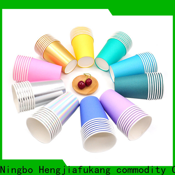 Hengjiafukang Latest paper cup manufacturers uk manufacturers food packaging