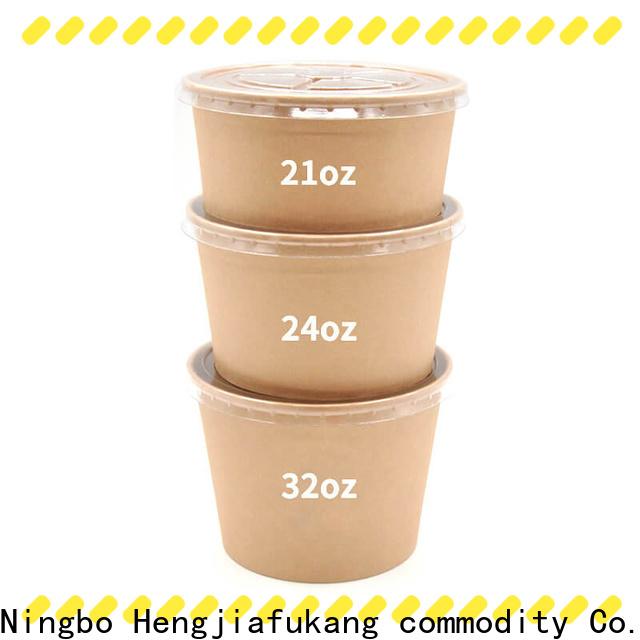 Hengjiafukang disposable soup bowls walmart factory coffee