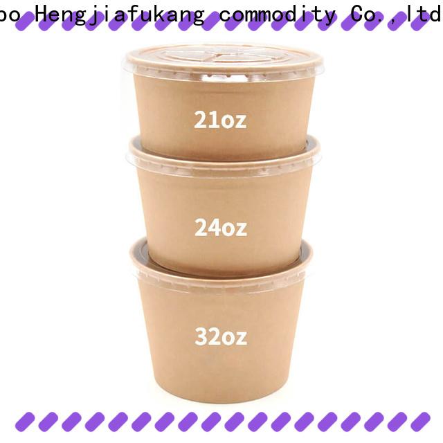 Hengjiafukang 16 oz paper bowls Supply food