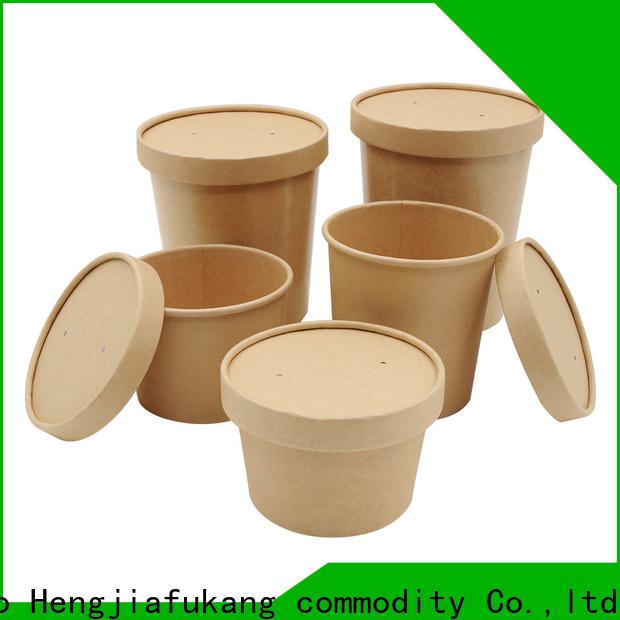 Hengjiafukang New small disposable soup cups factory soup