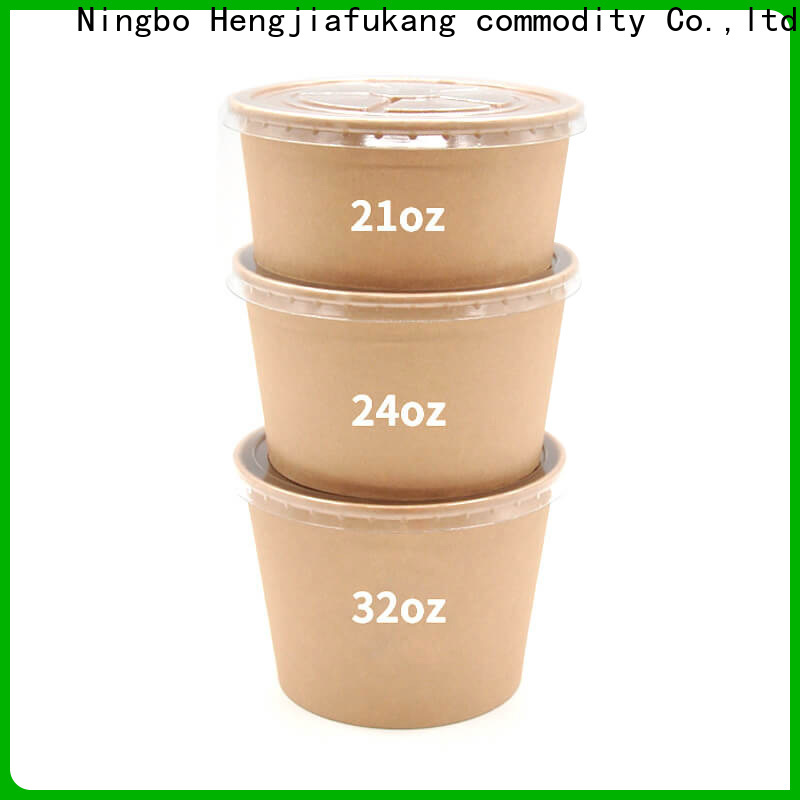 High-quality large disposable bowls company coffee
