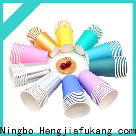 Hengjiafukang Latest polyethylene cups manufacturers disposable