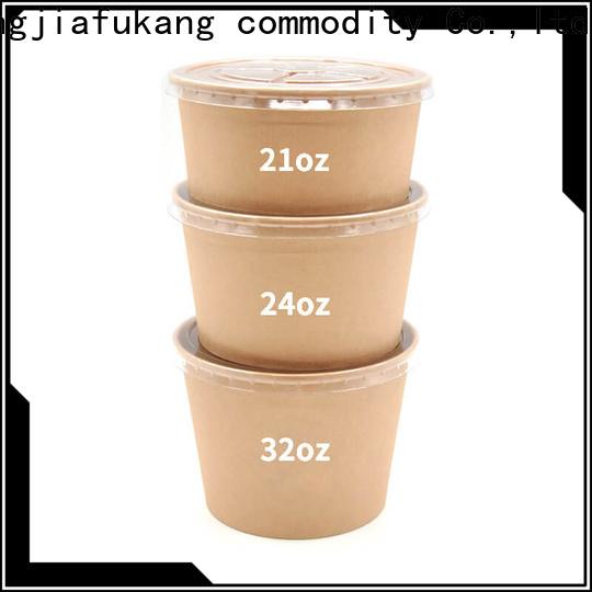 Hengjiafukang New plastic salad containers factory soup