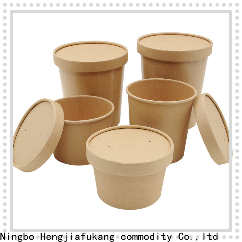 Custom microwavable disposable soup bowls for business coffee