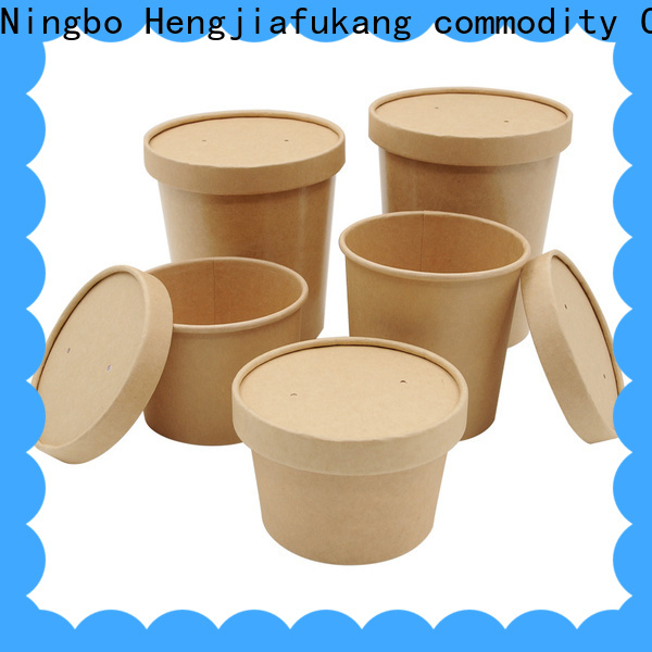 Hengjiafukang white disposable bowls company coffee
