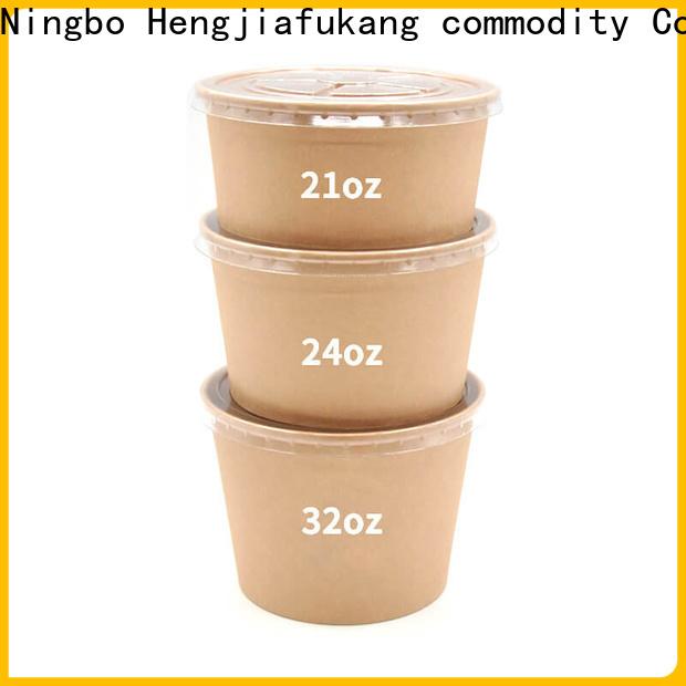 Hengjiafukang Custom biodegradable soup bowls manufacturers food