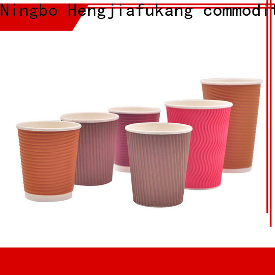 Latest paper ripple cups manufacturers food