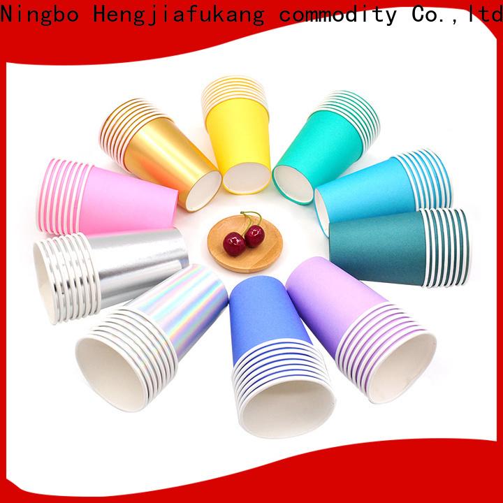 Hengjiafukang small plastic dixie cups factory disposable