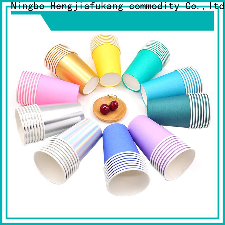 Hengjiafukang paper cups and lids Supply disposable