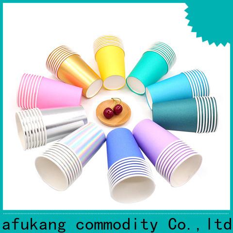 Hengjiafukang cool paper cups company disposable