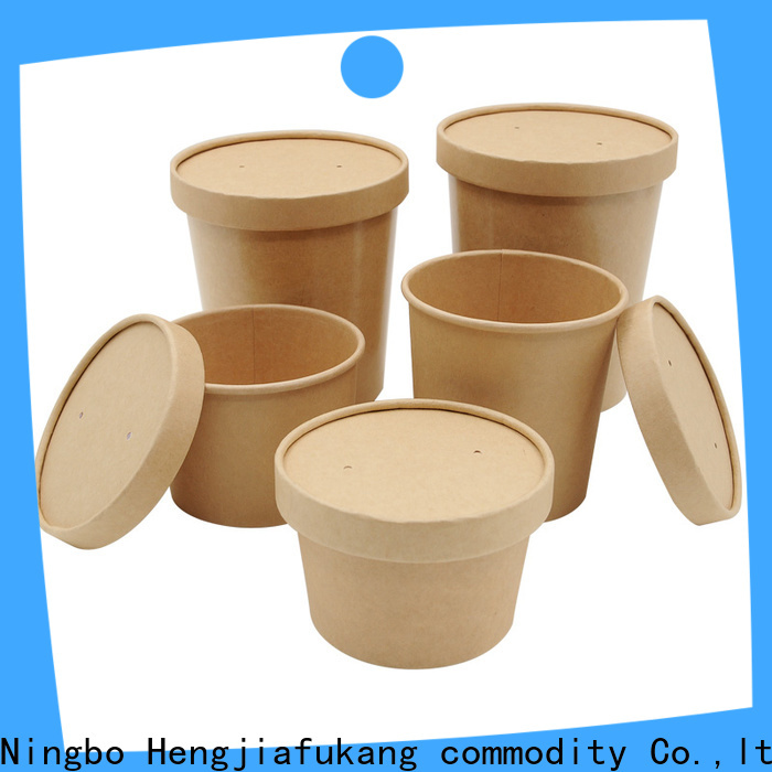 Hengjiafukang small paper soup bowls Supply soup