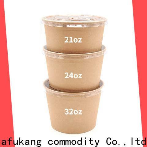 Hengjiafukang Custom paper salad containers manufacturers coffee