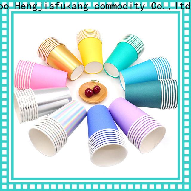 Hengjiafukang High-quality plastic to go cups company food packaging