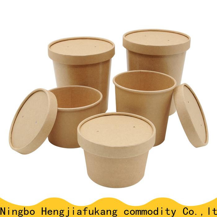 Custom small paper bowls company soup