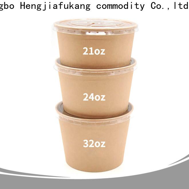 Hengjiafukang Best black disposable bowls company soup