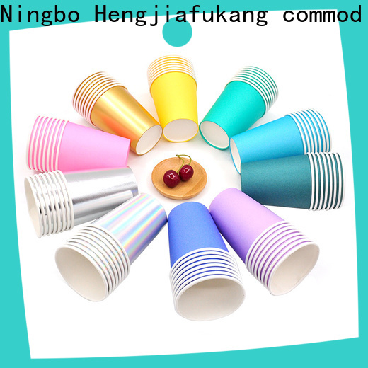 Hengjiafukang Top paper solo cups for business disposable