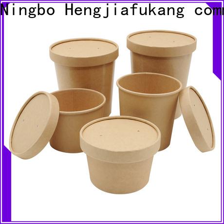 Hengjiafukang disposable salad containers Supply soup
