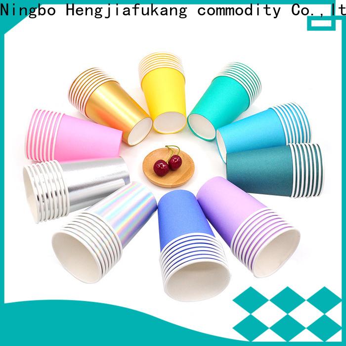 Hengjiafukang paper cup dimensions Suppliers disposable