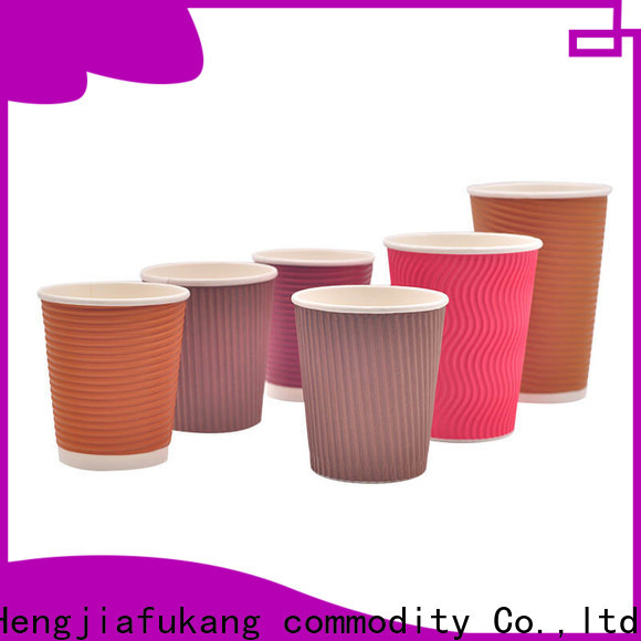 Hengjiafukang ripple wrap cups Suppliers food