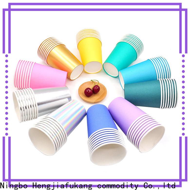Hengjiafukang Latest disposable soda cups company disposable