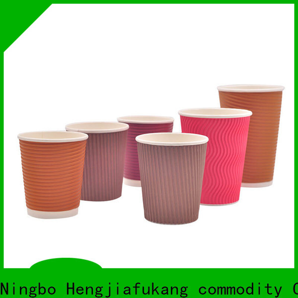Hengjiafukang Top 8oz ripple cups Suppliers food