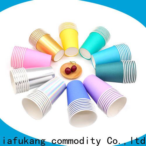 Hengjiafukang Top paper cup weight company disposable