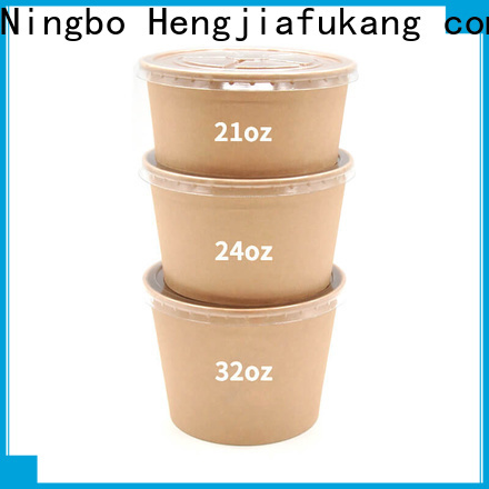 Hengjiafukang paper nacho bowls Supply soup