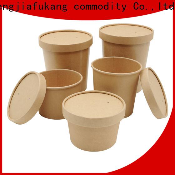 Hengjiafukang square paper bowls for business coffee