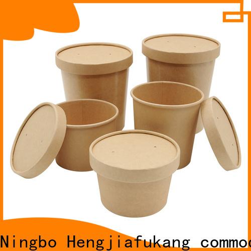 Hengjiafukang kraft paper soup containers Suppliers soup