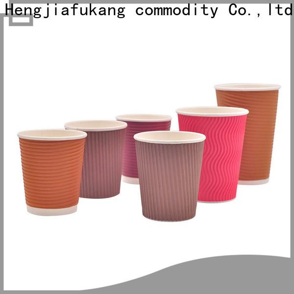 Hengjiafukang New ripple cups with lids Supply food