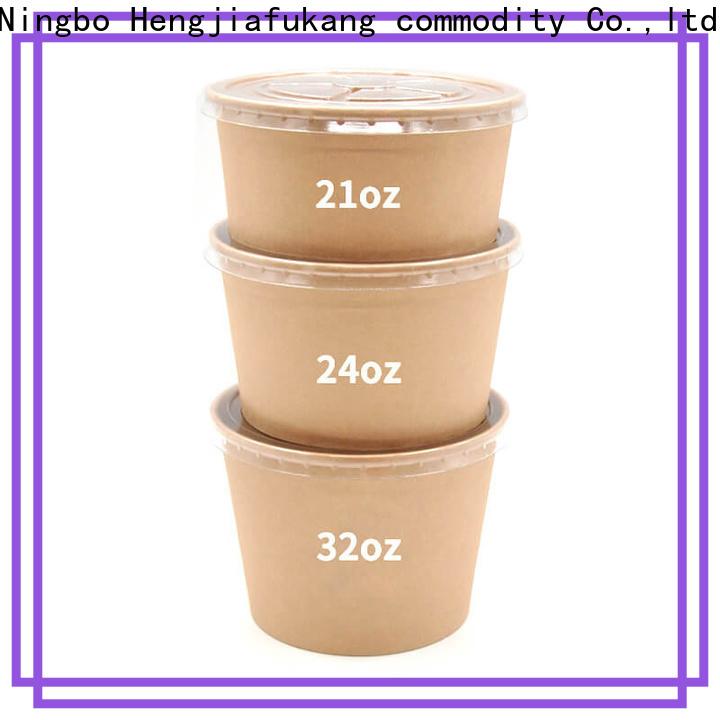 Hengjiafukang 8 oz disposable bowls Supply coffee