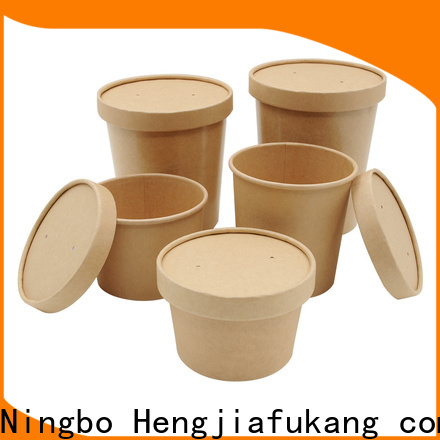 Hengjiafukang High-quality clear plastic soup containers for business food