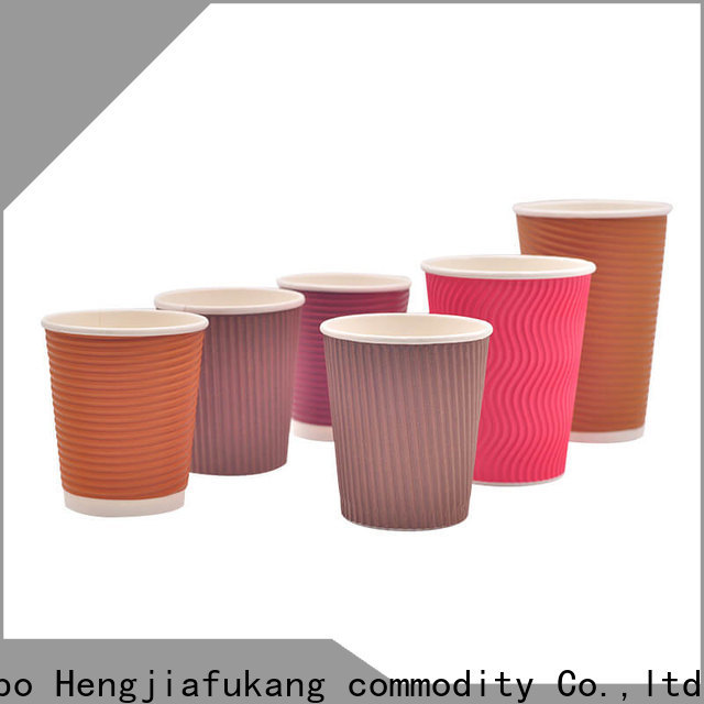 Hengjiafukang Wholesale kraft ripple coffee cups Supply soup