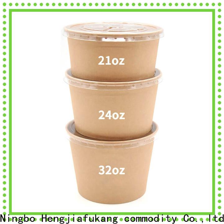 Hengjiafukang Top white plastic salad bowls Supply soup