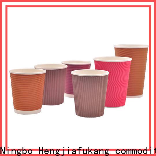 Hengjiafukang New custom disposable coffee cups Supply food