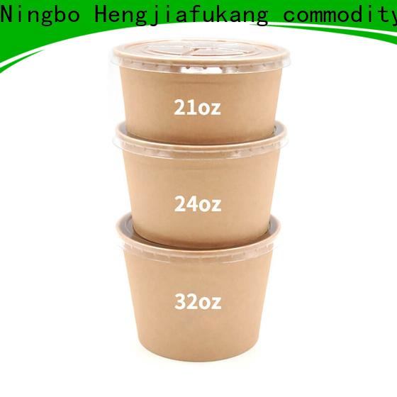 Hengjiafukang Wholesale small plastic soup bowls factory food