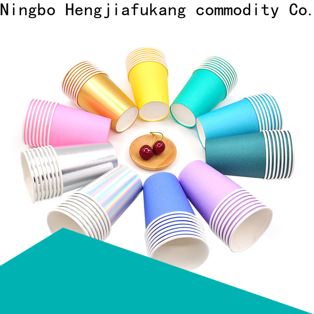 Hengjiafukang green disposable cups manufacturers food packaging