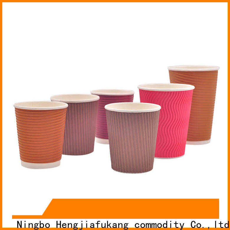 Hengjiafukang Latest ripple wrap cups factory coffee