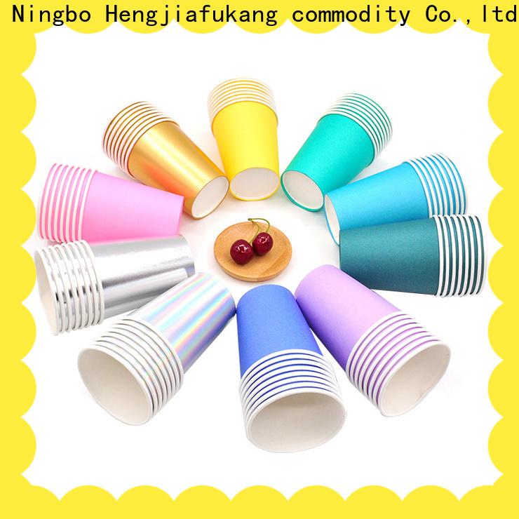 Hengjiafukang hot beverage cups wholesale factory disposable