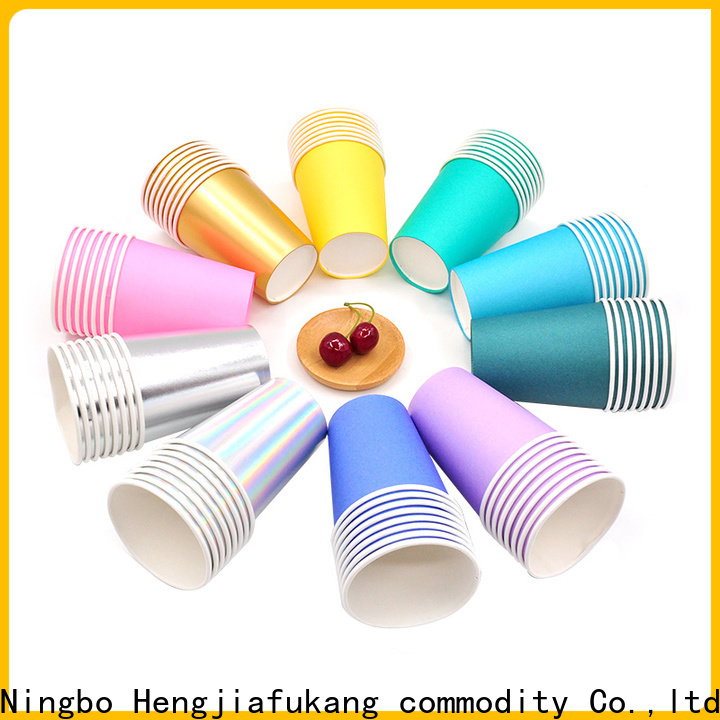Hengjiafukang recyclable disposable cups for business disposable