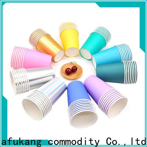 Hengjiafukang Custom disposable paper cup machine Supply food packaging
