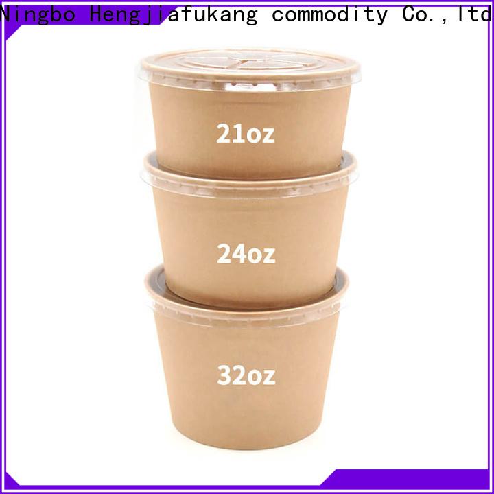 Hengjiafukang salad bowl plastic container manufacturers soup