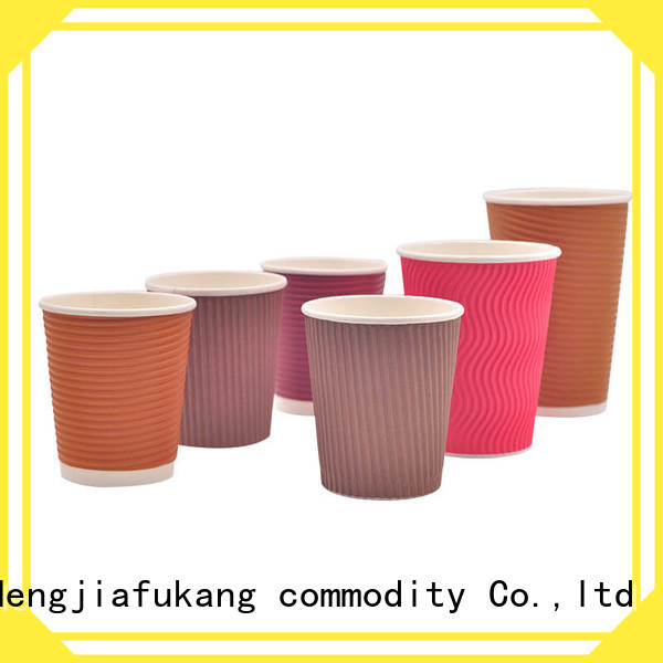 High-quality take away paper cups for business coffee