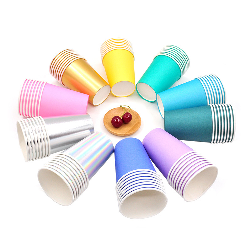 Hengjiafukang High-quality disposable paper cups wax manufacturers food packaging